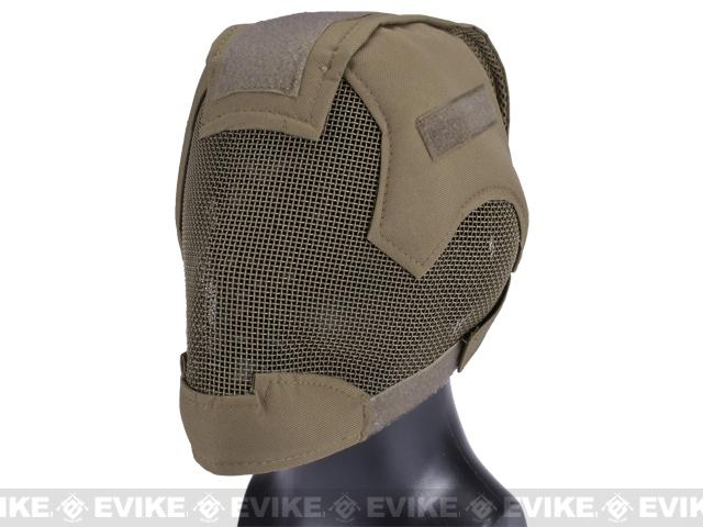 Matrix Striker Helmet Full Face Carbon Steel Mesh Mask (Color  Dark Earth) 07c6158c3