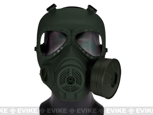 Avengers Cosplay Toxic Gas Mask w/ Fan - OD Green (NOT a safety eye protection by itself)