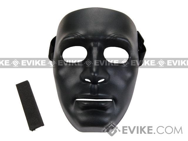 Koei Tactical Infantry Face Shield / Face Mask (Color: Black)