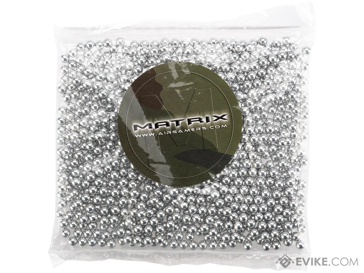 Matrix 0.30g Aluminum 6mm Target BBs NOT FOR GAMING USE (Count: 1000 Rounds)