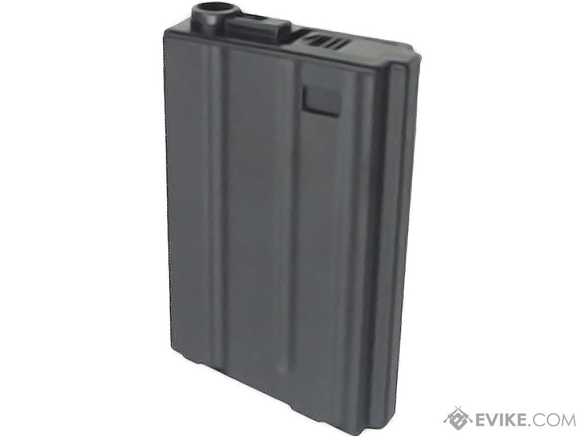 Pre-Order ETA October 2019 Matrix Metal 190rd VN-Style Hi-Cap Magazine for M4/M16 Series Airsoft AEG Rifles (Package: Single Magazine)