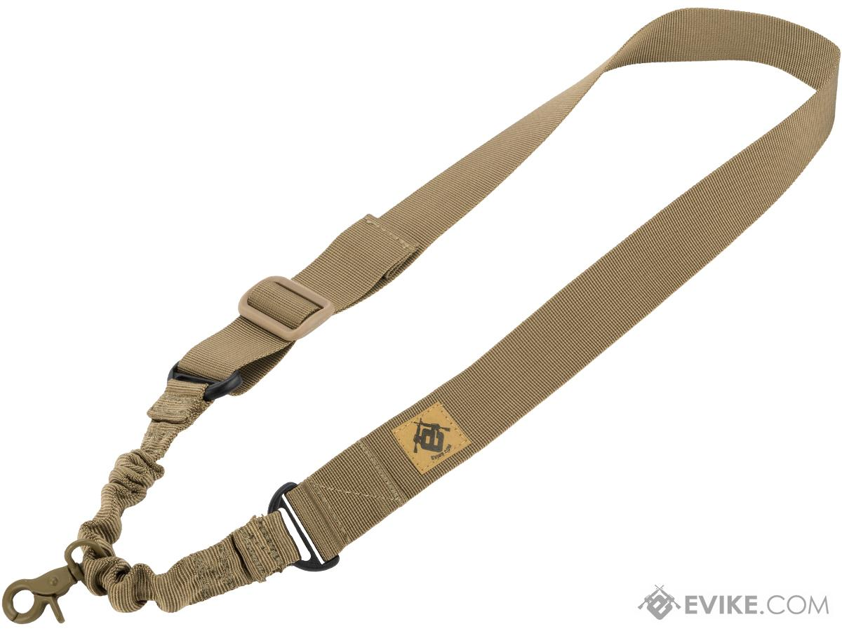 Matrix Tactical Gear Single Point Bungee Rifle Sling (Color: Coyote Tan)