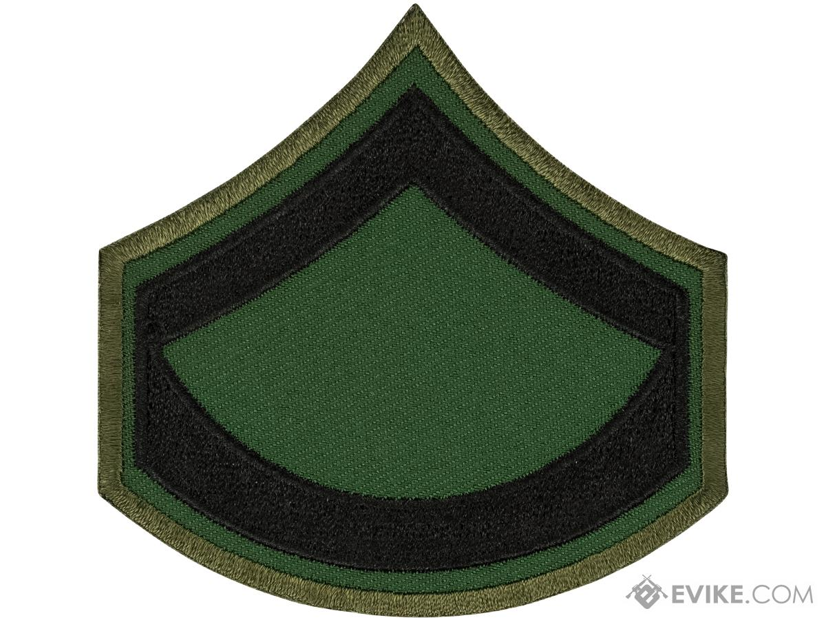 Matrix Military Ranking Embroidery Patch (Style: Private First Class)