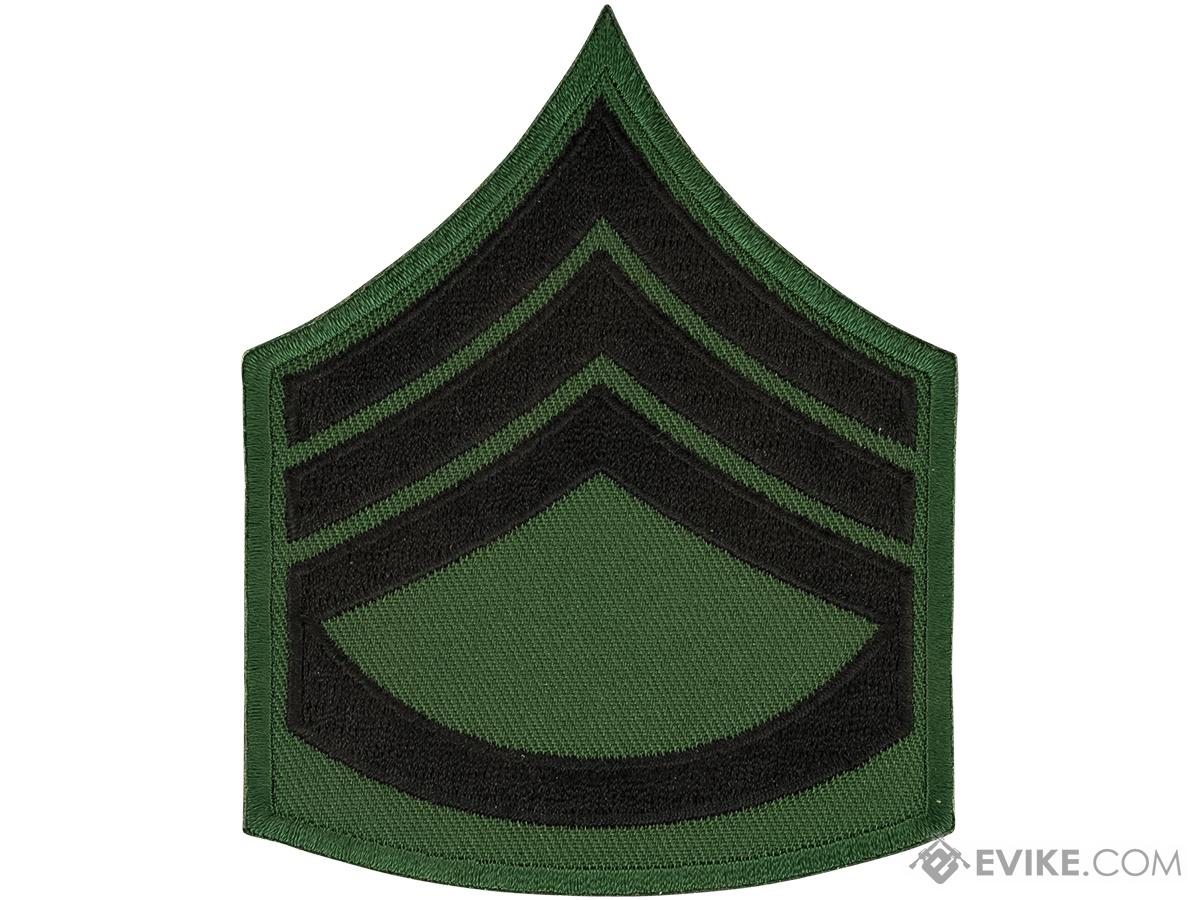 Matrix Military Ranking Embroidery Patch (Style: Staff Sergeant)