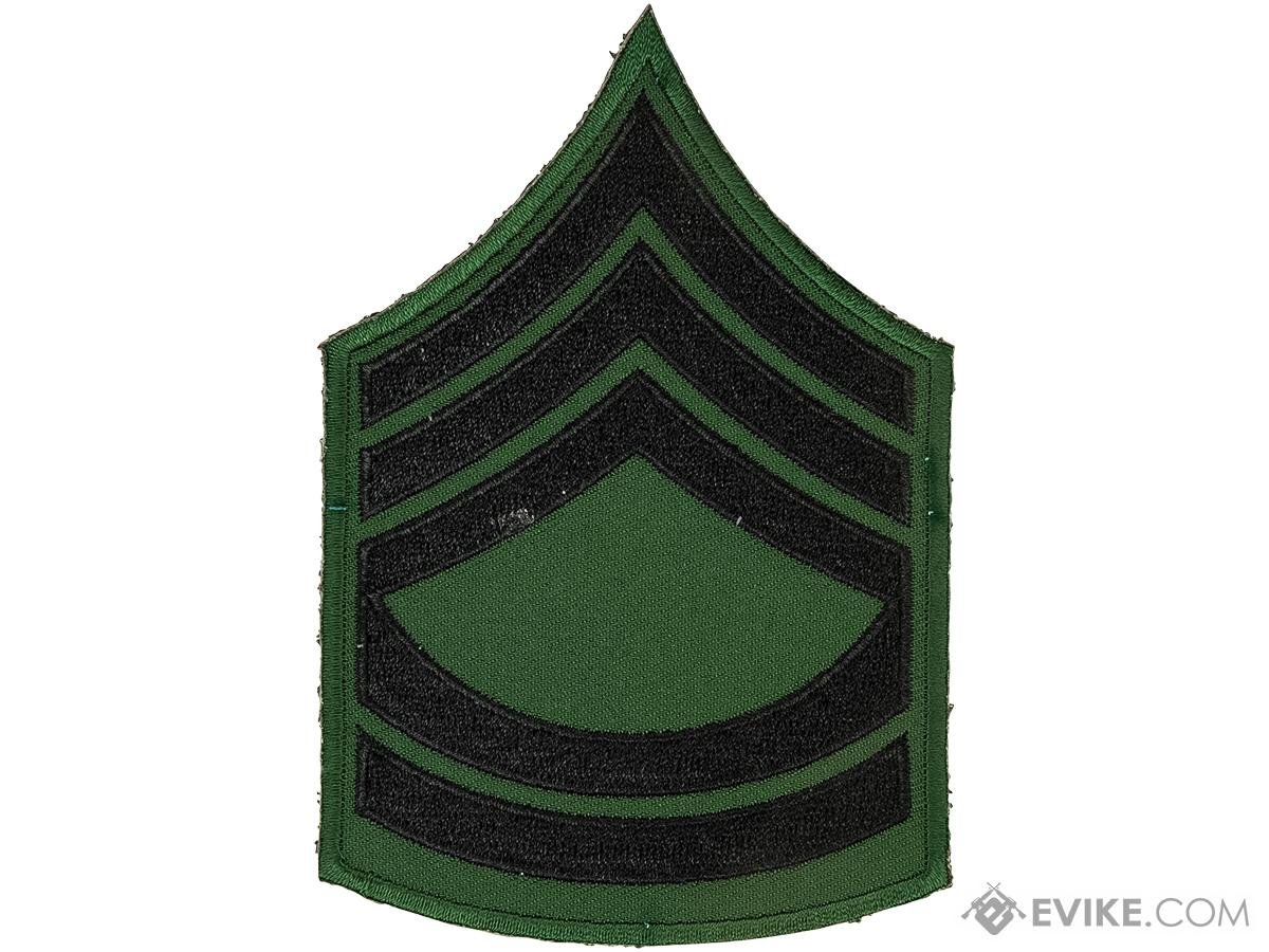 Matrix Military Ranking Embroidery Patch (Style: Sergeant First Class)