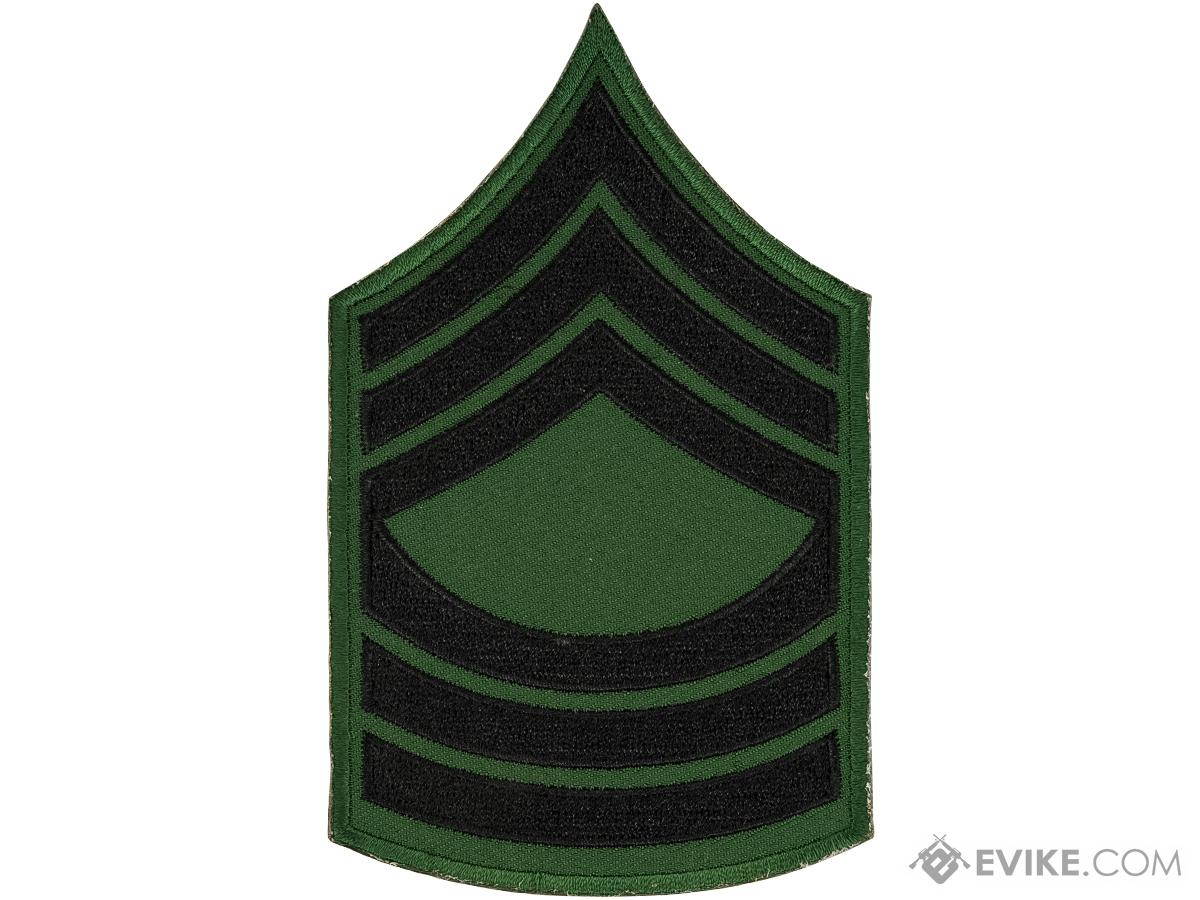 Matrix Military Ranking Embroidery Patch (Style: Master Sergeant)