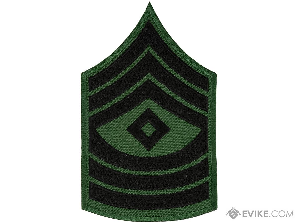 Matrix Military Ranking Embroidery Patch (Style: First Sergeant)
