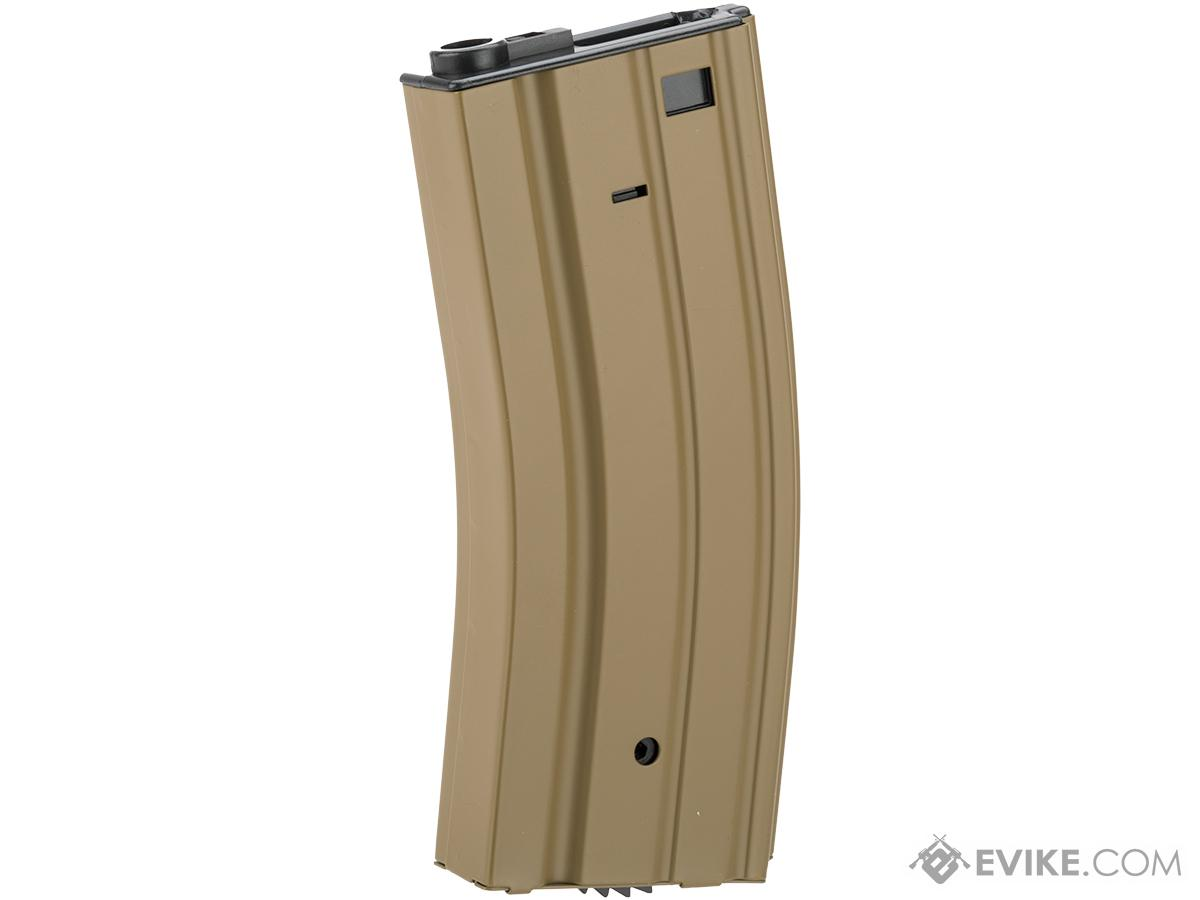 Full Metal 300 round Hi-Cap Magazine For M4 M16 L85 SCAR Series Airsoft AEG (Color: Dark Earth)