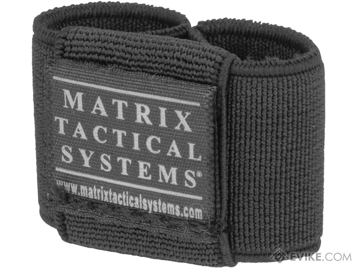 Matrix Laser / Combat Light Switch Elastic Garter (Color: Black)
