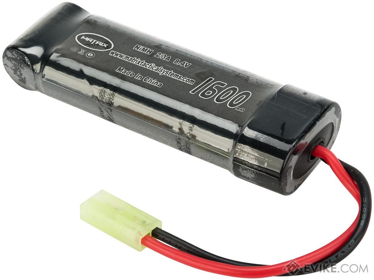 Matrix High Output 8.4V 1600mAh Ni-MH Small Type Battery.