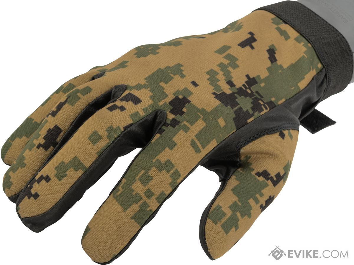 Matrix Special Forces Neoprene Tactical Gloves (Color: Digital Woodland / Small)