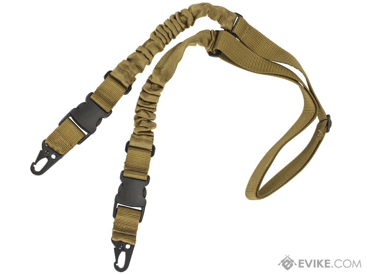 Matrix 2-Point Bungee Sling w/ QD Buckles (Color: Tan)