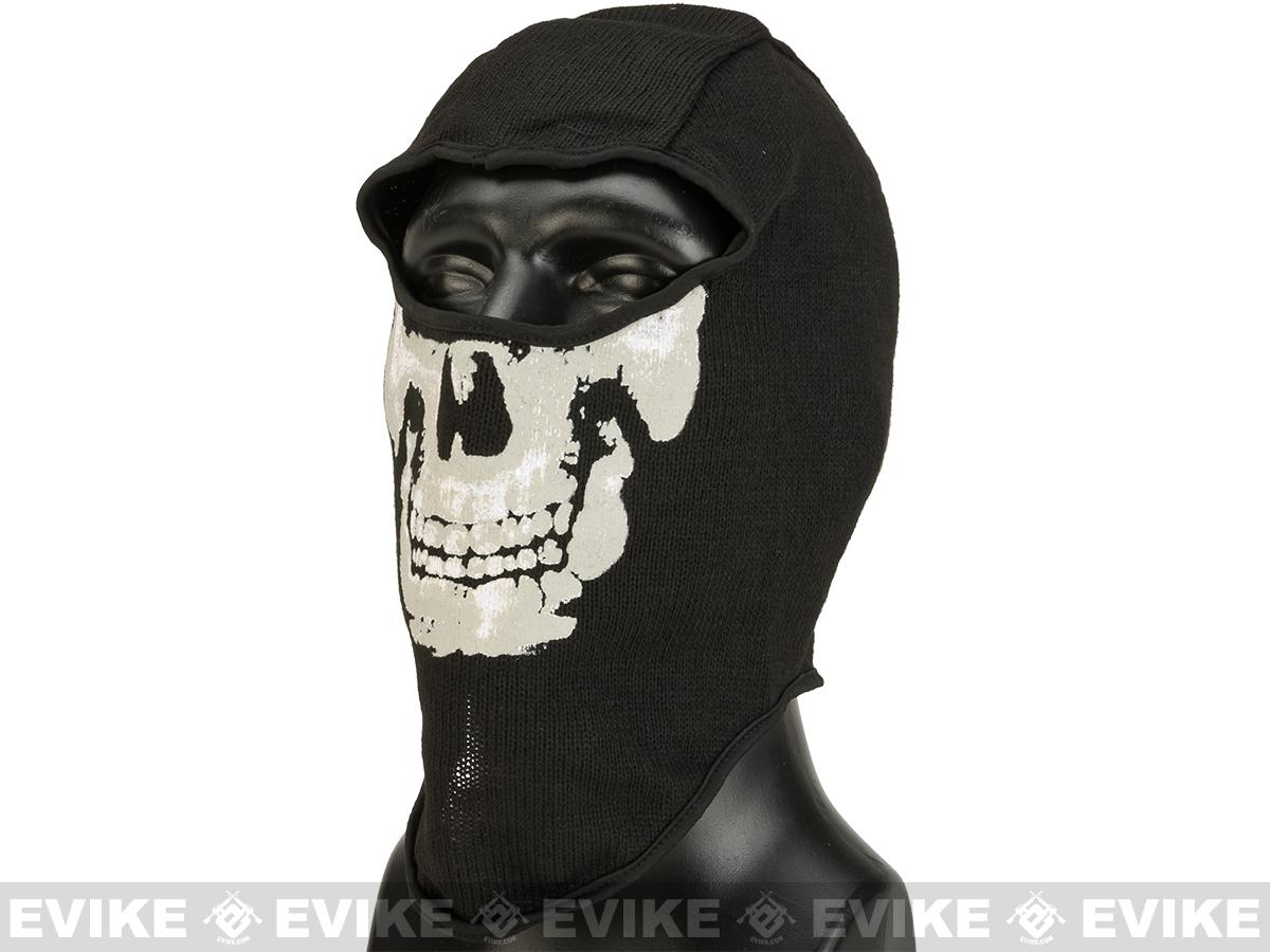 Matrix Cold Weather Full Face Balaclava - Skull