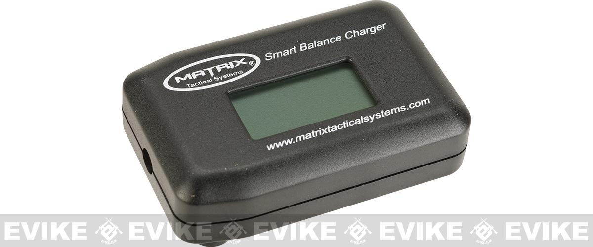 Matrix cUL Certified LiPo Balance Charger with Capacity Display