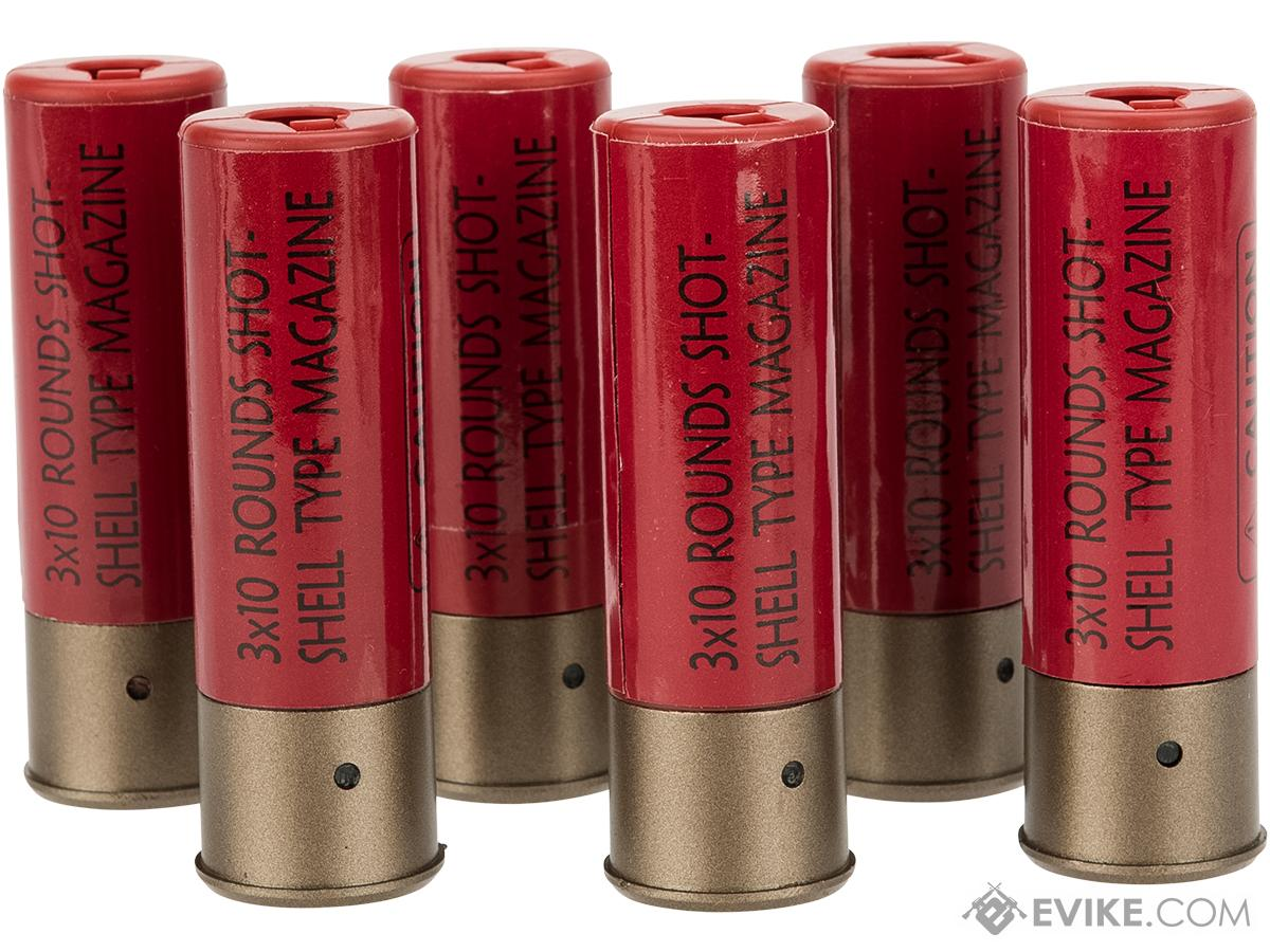 battle axe 30 round shotgun shell magazines for 3 round burst