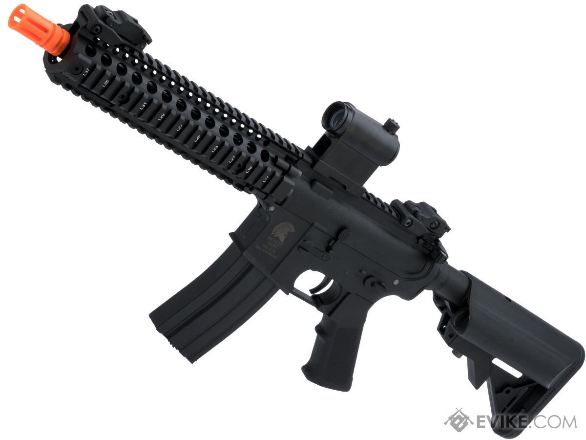Matrix Sportsline M4 RIS Airsoft AEG Rifle w/ G2 Micro-Switch Gearbox (Model: Black RIS 9 / 350 FPS)