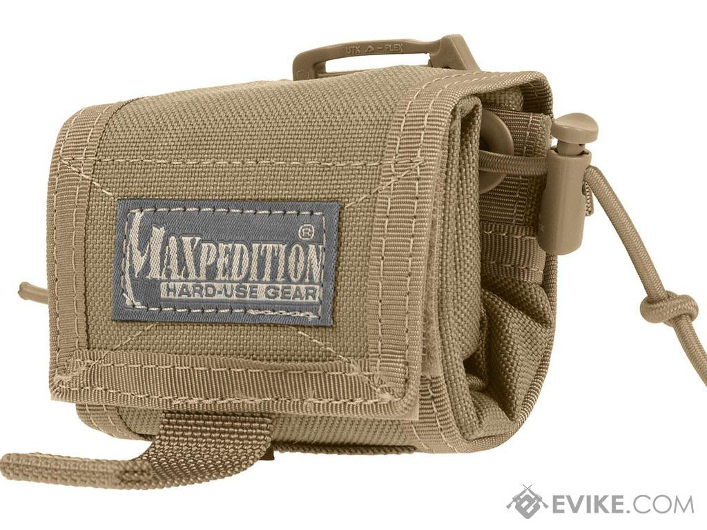 Maxpedition Rollypoly® Folding Dump Pouch (Color: Tan)