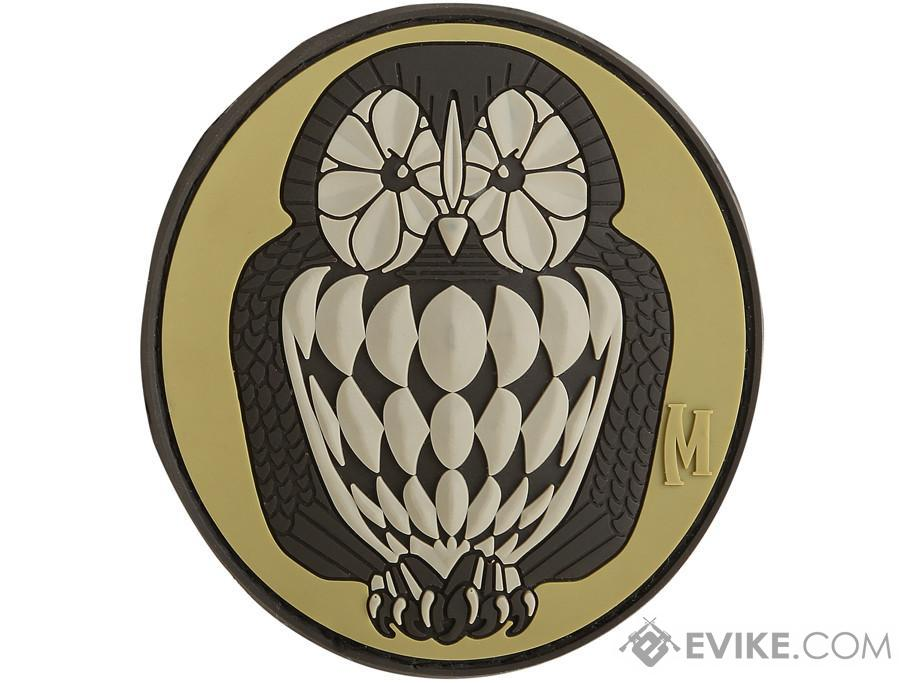 Maxpedition Owl PVC Morale Patch (Color: Arid)