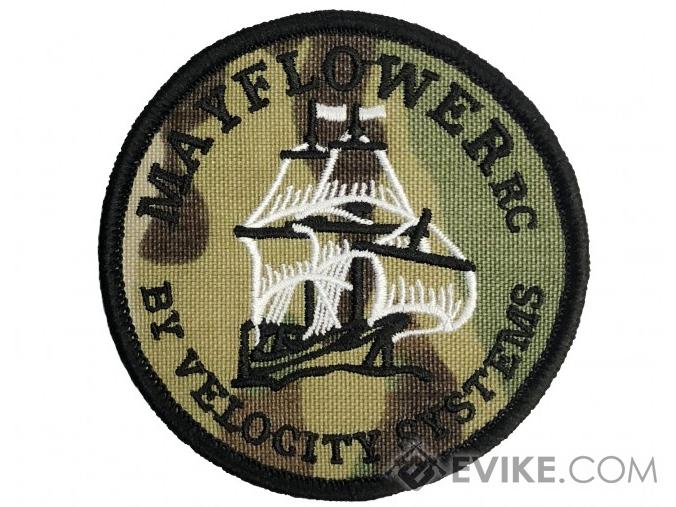 Mayflower RC by Velocity Systems Embroidered Hook & Loop Morale Patch (Color: Multicam)