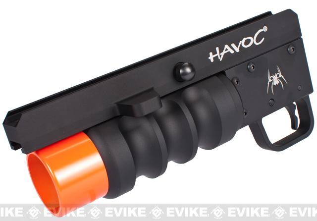 Madbull Spike Tactical Havoc Airsoft Grenade Launcher (Length: 9)