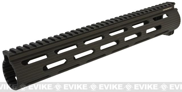 Madbull VTAC Extreme Battle Rail for Airsoft M4/M16 Series Airsoft AEG Rifles (Color: Black / 13)