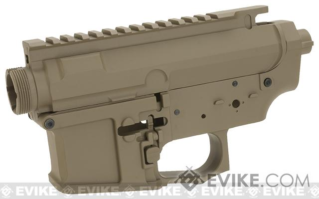 G&P MOTS Full Metal Receiver Kit (Color: Blank / Dark Earth)