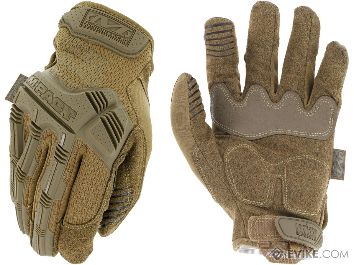 Mechanix Wear M-Pact Gloves Version 2 (Color: Coyote / Small)