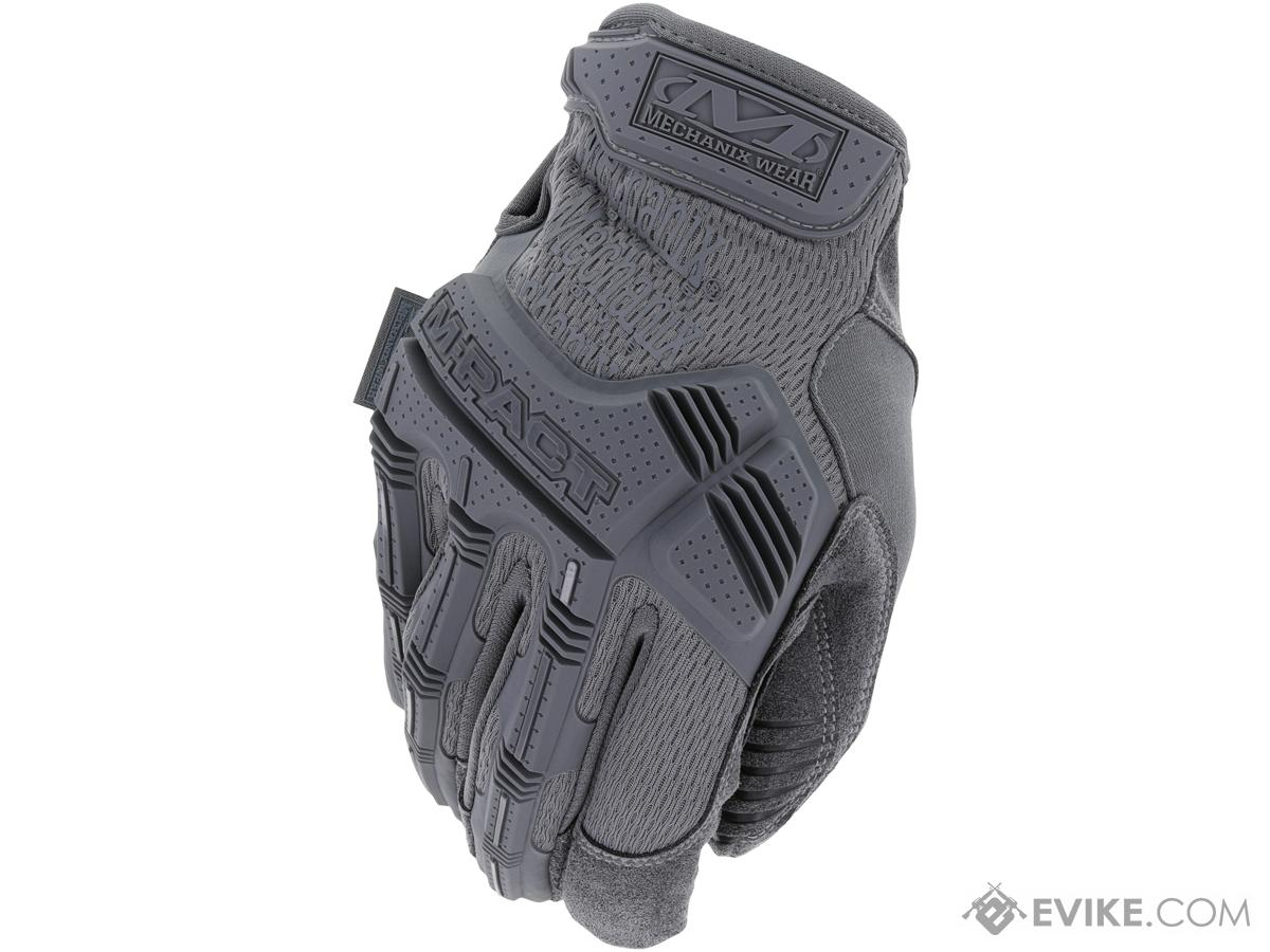 Mechanix M-Pact Tactical Gloves (Color: Wolf Grey / Medium)