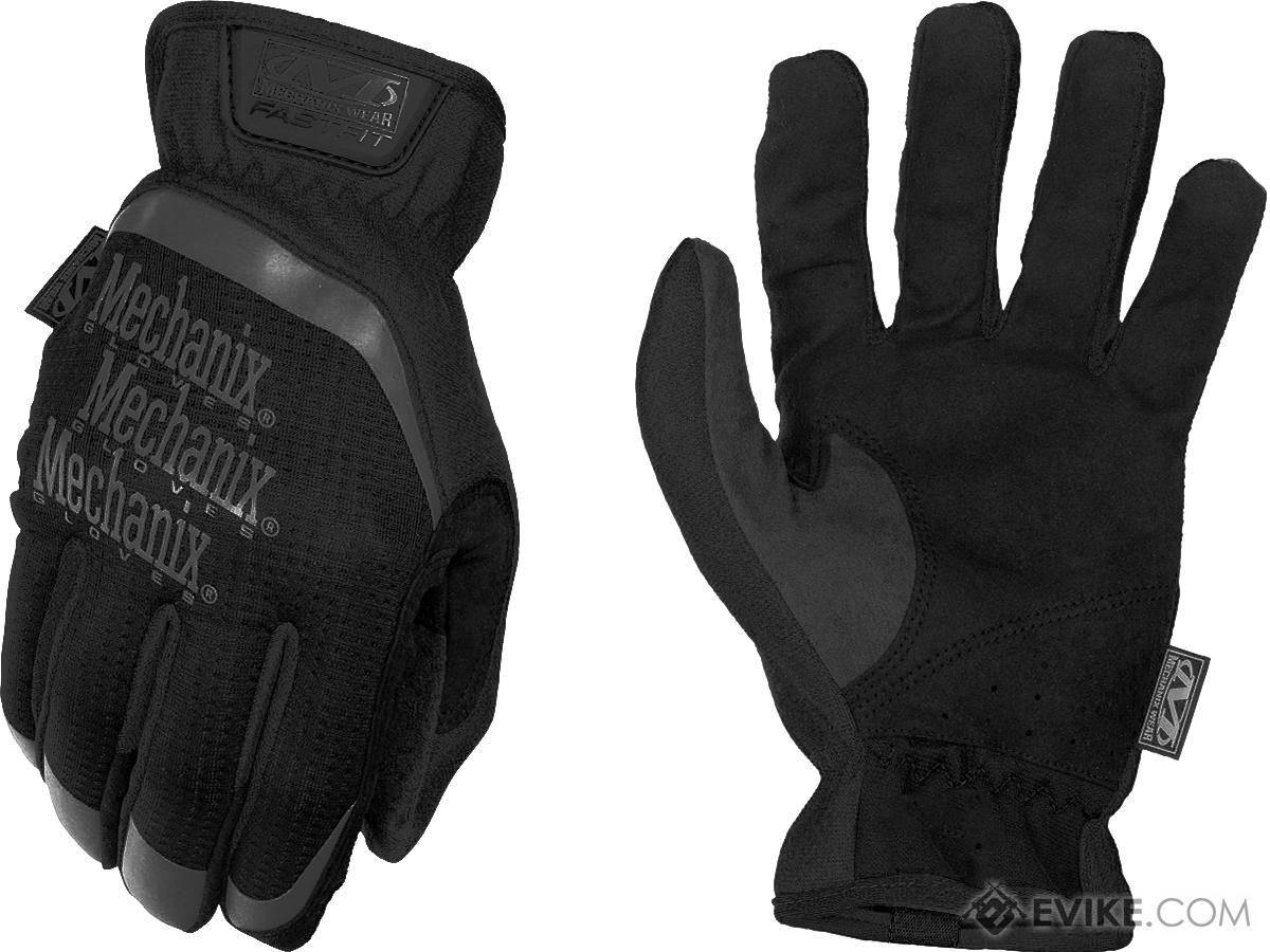 Mechanix Wear FastFit Tactical Touch Screen Gloves (Color: Black / Small)
