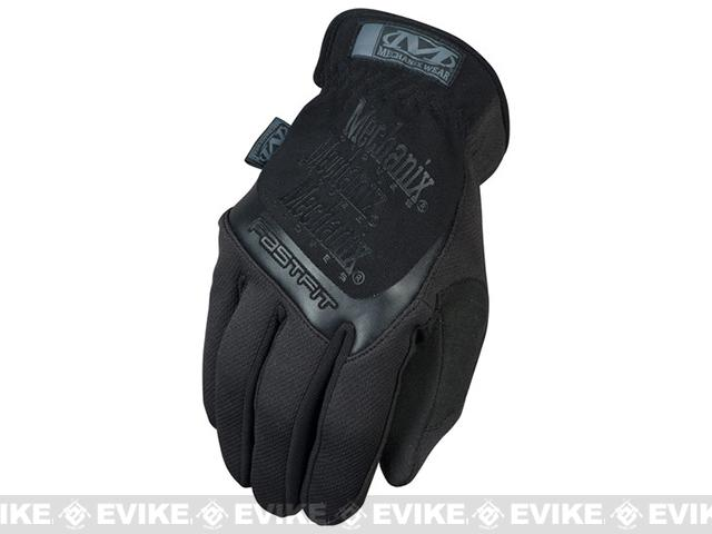 Mechanix Wear FastFit Covert Tactical Gloves - Black (Size: X-Large)