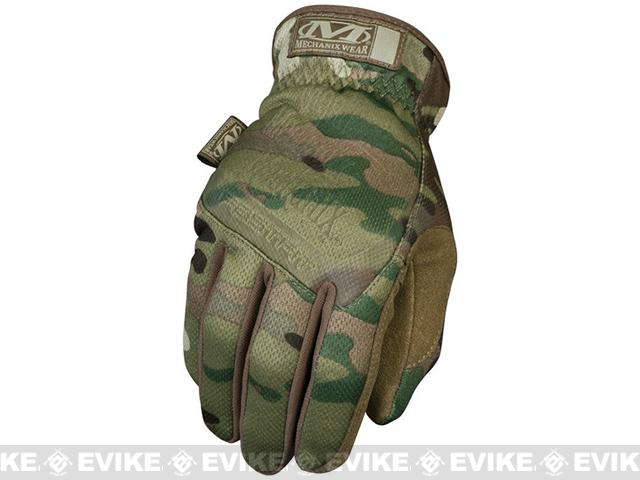 Mechanix Multicam FastFit Tactical Gloves - Multicam (Size: Medium)