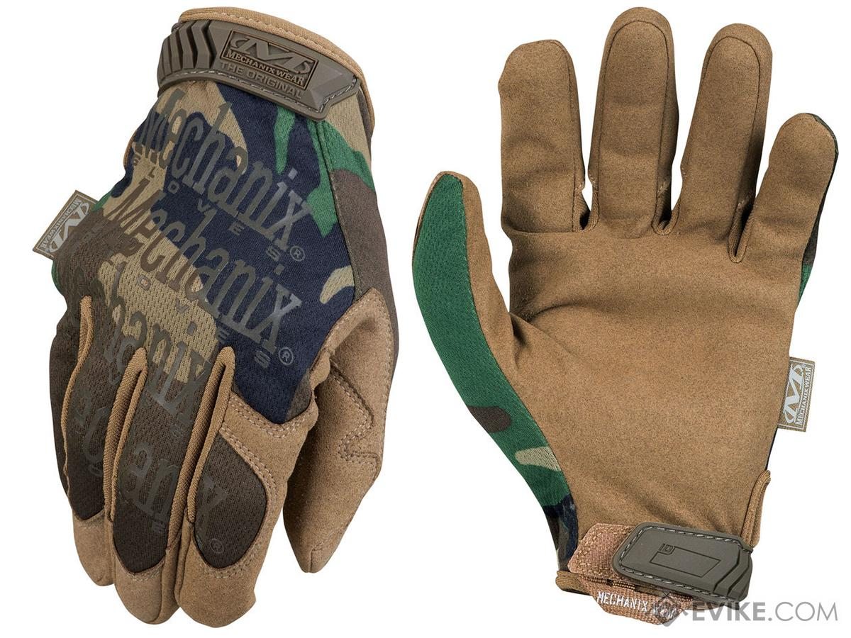 Mechanix Original Tactical Gloves - Woodland (Size: Large)