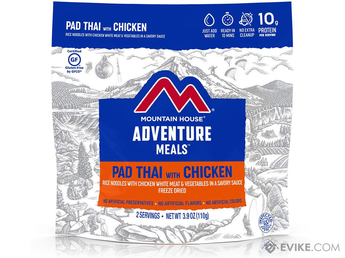 Mountain House Freeze Dried Camping Food (Menu: Pad Thai With Chicken)