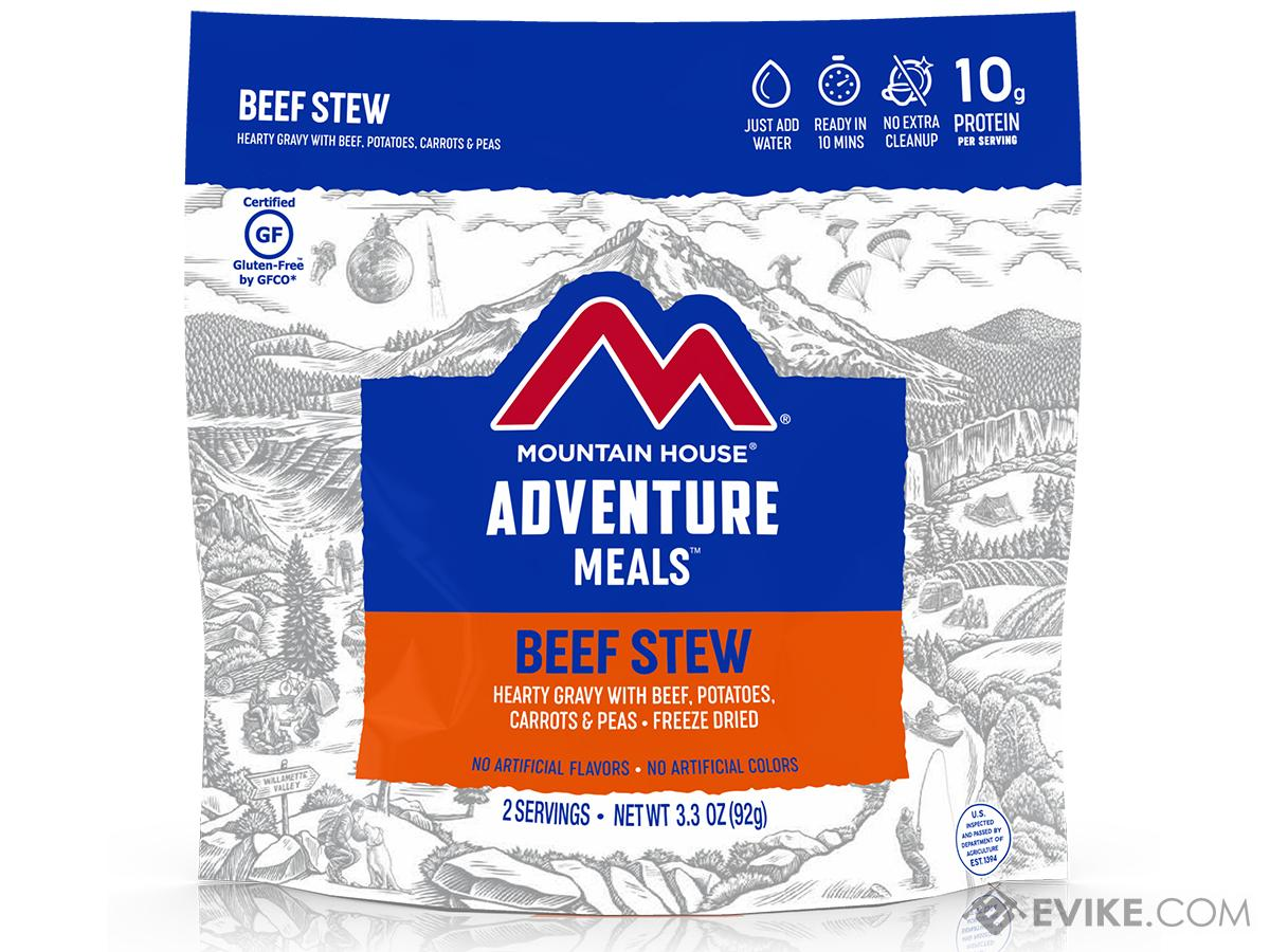 Mountain House Freeze Dried Camping Food (Menu: Beef Stew / Entree)