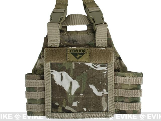 z Condor Mini Exo Plate Carrier ID Panel - Multicam