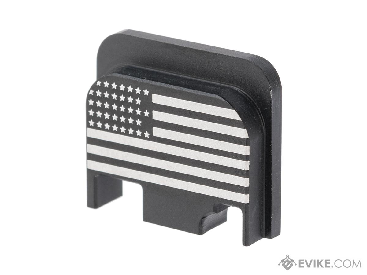 MITA CNC Slide Cover for Elite Force GLOCK Series Airsoft Pistols (Type: Type A)