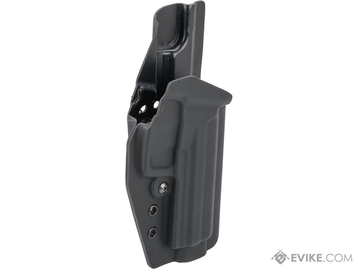 MC Kydex Airsoft Elite Series Pistol Holster for USP (Model: Black / No Attachment / Right Hand)