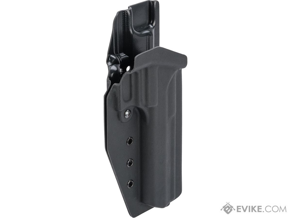 MC Kydex Airsoft Elite Series Pistol Holster for Desert Eagle (Model: Black / No Attachment / Right Hand)