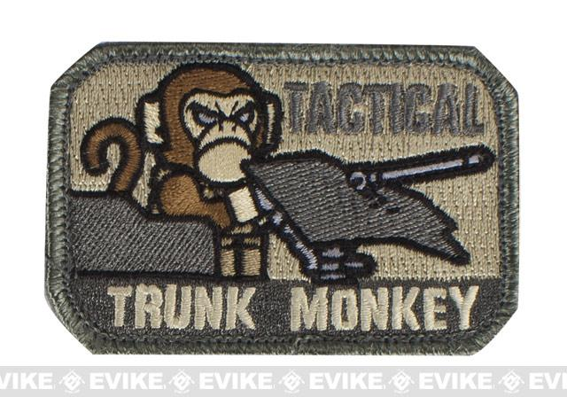 Mil-Spec Monkey Tactical Trunk Monkey Hook and Loop Patch - ACU
