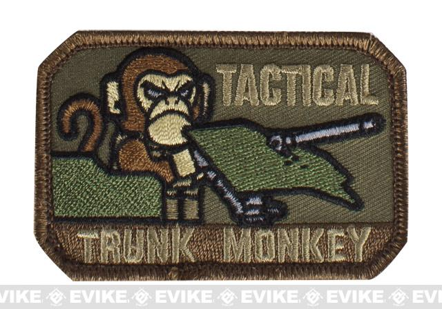 Mil-Spec Monkey Tactical Trunk Monkey Hook and Loop Patch - Forest