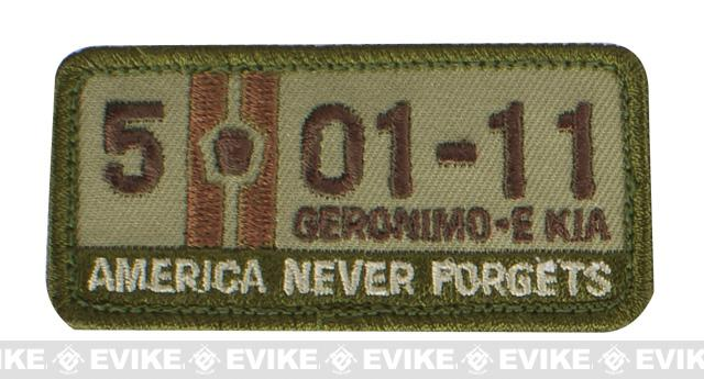 Mil-Spec Monkey 5-01-11 Patch - Multicam