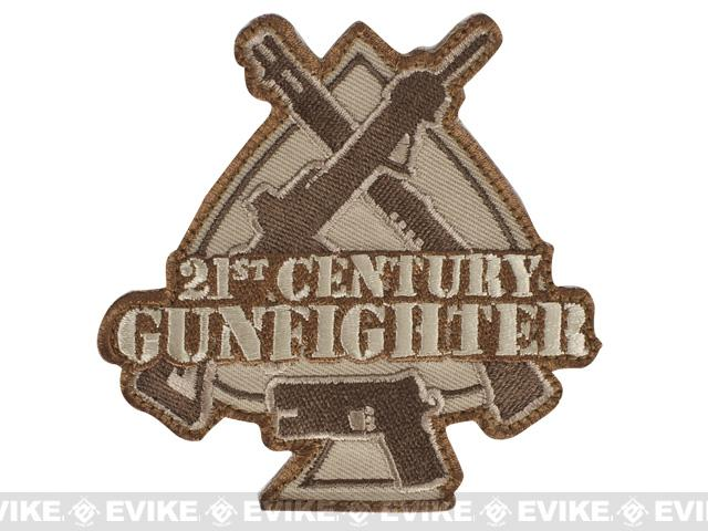 Mil-Spec Monkey 21st Century Gunfighter Patch - Desert