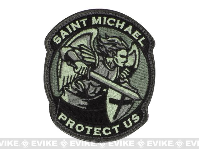 Mil-Spec Monkey Saint-M Modern Hook and Loop Patch - ACU