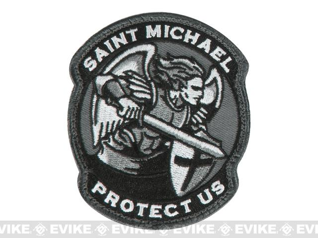 Mil-Spec Monkey Saint-M Modern Hook and Loop Patch - SWAT