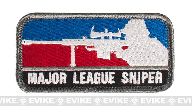 Mil-Spec Monkey Major League Sniper Hook and Loop Patch - Full Color