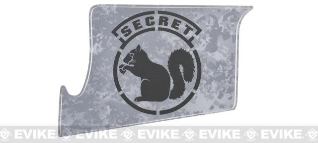US NightVision Rapid Wraps™ Mil Spec Monkey Magwell Slaps - Secret Squirrel (Color: Gun Metal Black)