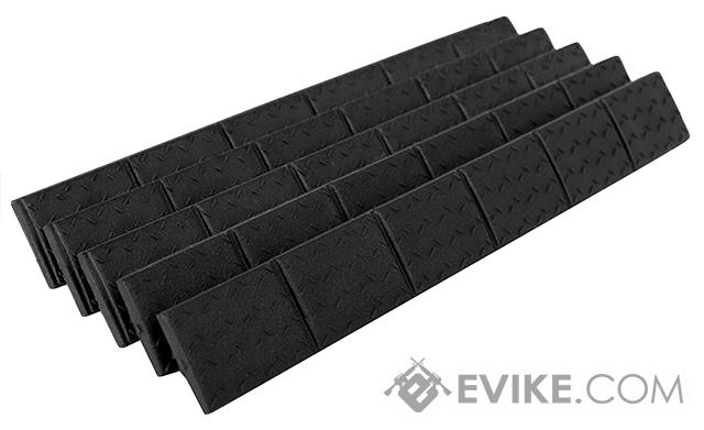 Trinity Force Universal Keymod/M-Lok Rail Covers - Black