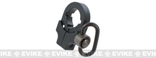 Element AEG Stock Tube Sling Mount w/ QD Swivel - Black