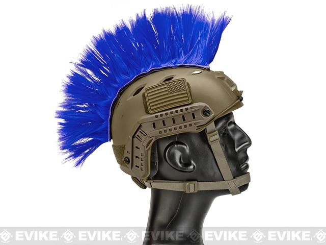 The Tacti-Cool Helmet Mohawk by Matrix - (Color: Blue)