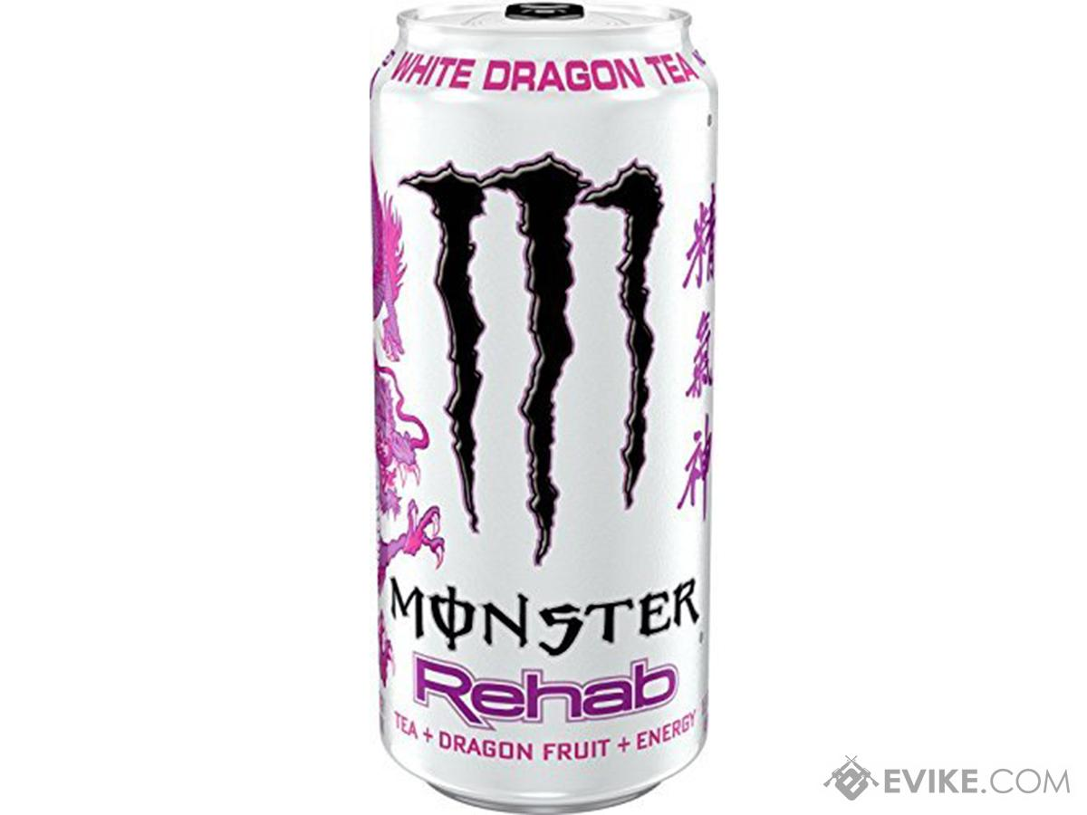 Monster Rehab Energy Drink (Flavor: White Dragon Tea)